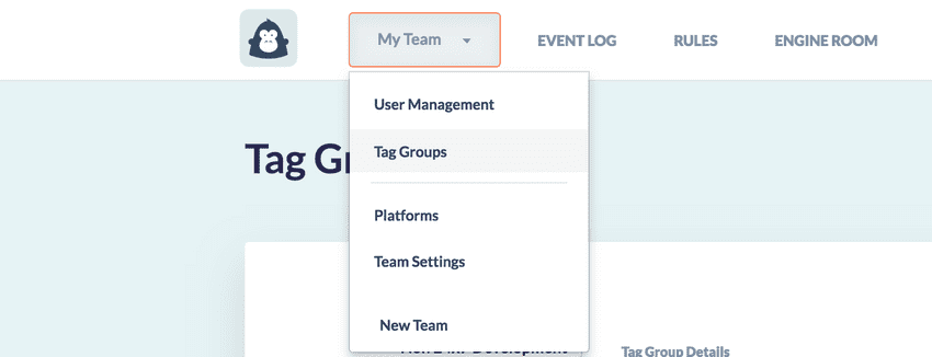 Tag Groups Nav